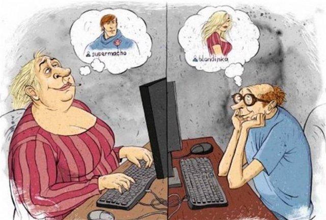 знакомство общение в сети интернет