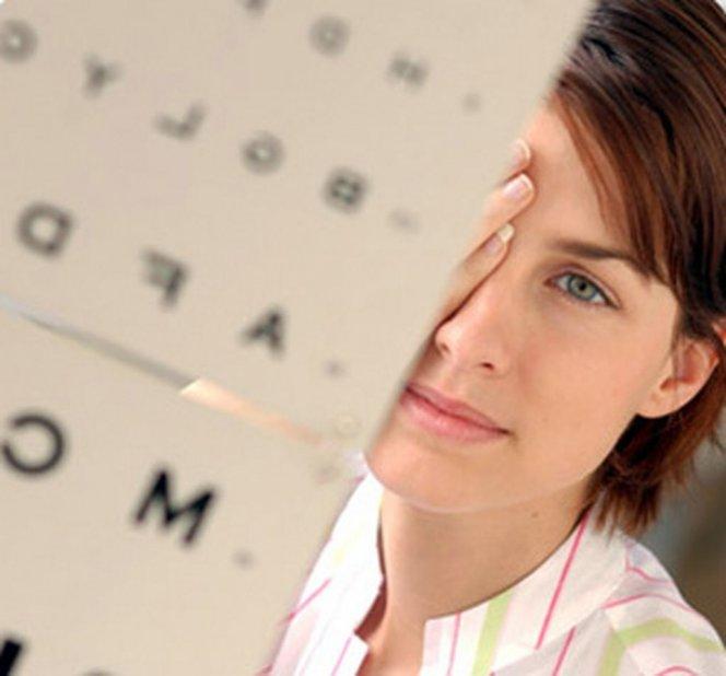 Операция или упражнения зрение