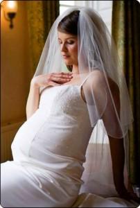 Свадьба с животиком препятствия и проблемы