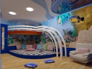 детская комната оформление