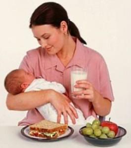 Диета кормящей матери: первый месяц как застегивать пиджак.